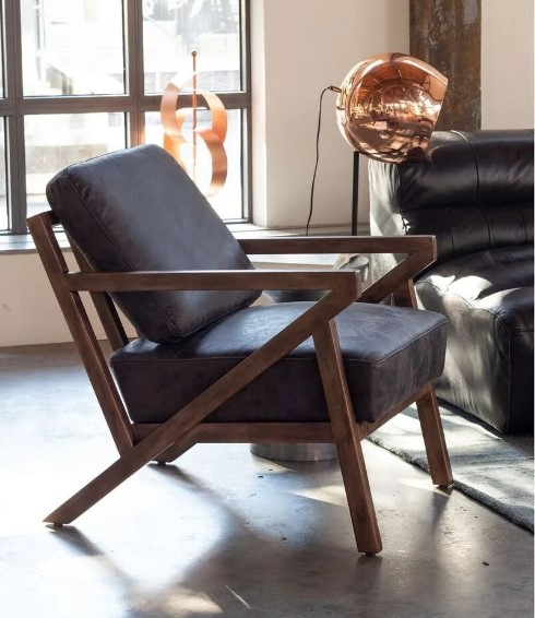 LeatherAccentChair