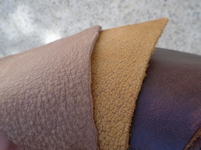 What is Full Grain or Corrected Grain Leather?